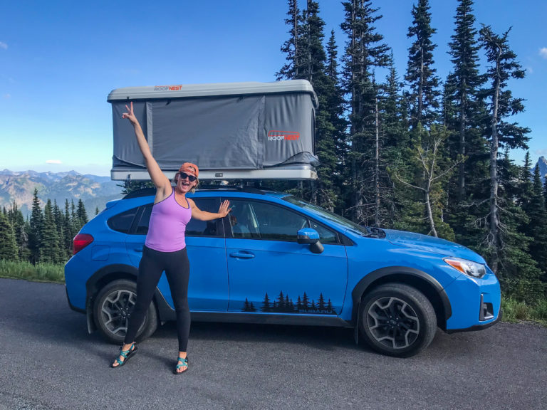 Can A Subaru Outback Hold A Roof Top Tent Rooftop Trekkers